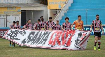 Santa Cruz estreia na Série C com empate sem gols contra o Paysandu