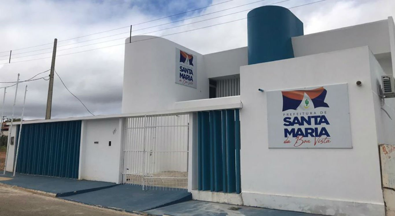 Sede da Prefeitura de Santa Maria da Boa Vista, no Sertão