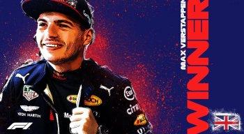 Max Verstappen, holandês da RBR, venceu o GP dos 70 anos da Fórmula 1