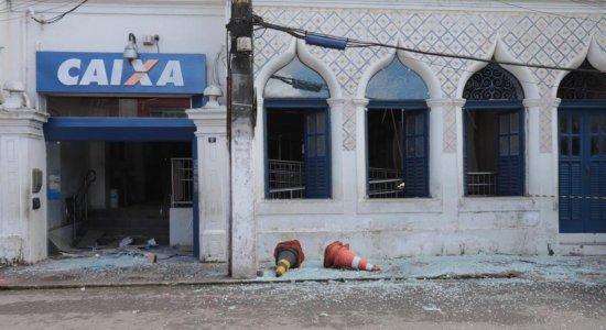 Agência da Caixa de Paudalho, Zona da Mata de Pernambuco, é alvo de explosão