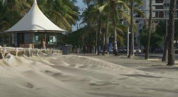 Meteorologista conta que os ventos estão mais fortes e frios no Recife e Região Metropolitana