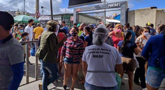 Retorno da Feira da Sulanca em Caruaru tem registro de aglomeração
