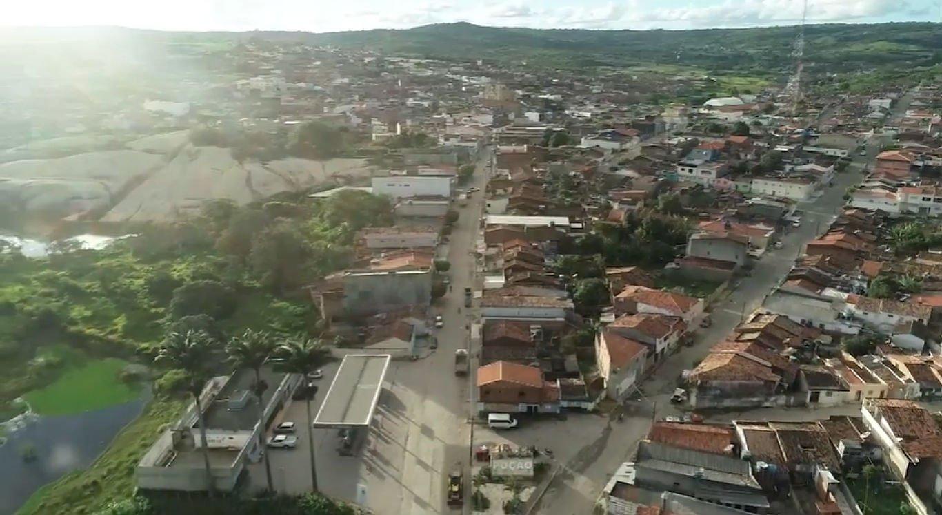 Cidade de Poção, no Agreste de Pernambuco
