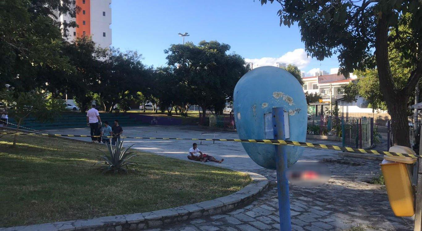 Crime aconteceu na Praça Chico Porto, em Caruaru
