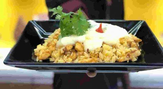 Saiba como preparar Arroz de Terceira, com o chef Rivandro França do Sabor da Gente
