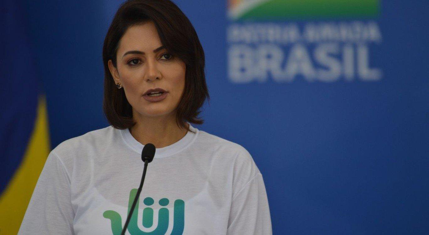 Primeira-dama Michelle Bolsonaro