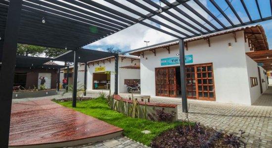 Polo gastronômico da Feira de Artesanato, em Caruaru