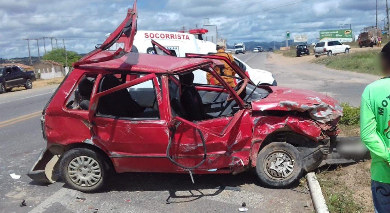Acidente deixou 9 feridos em Pesqueira