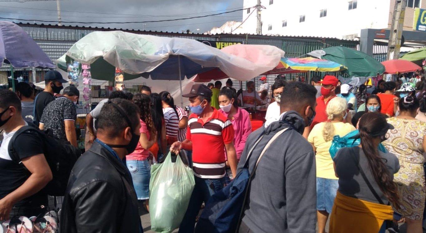 Feira da Sulanca durante segunda semana de liberação