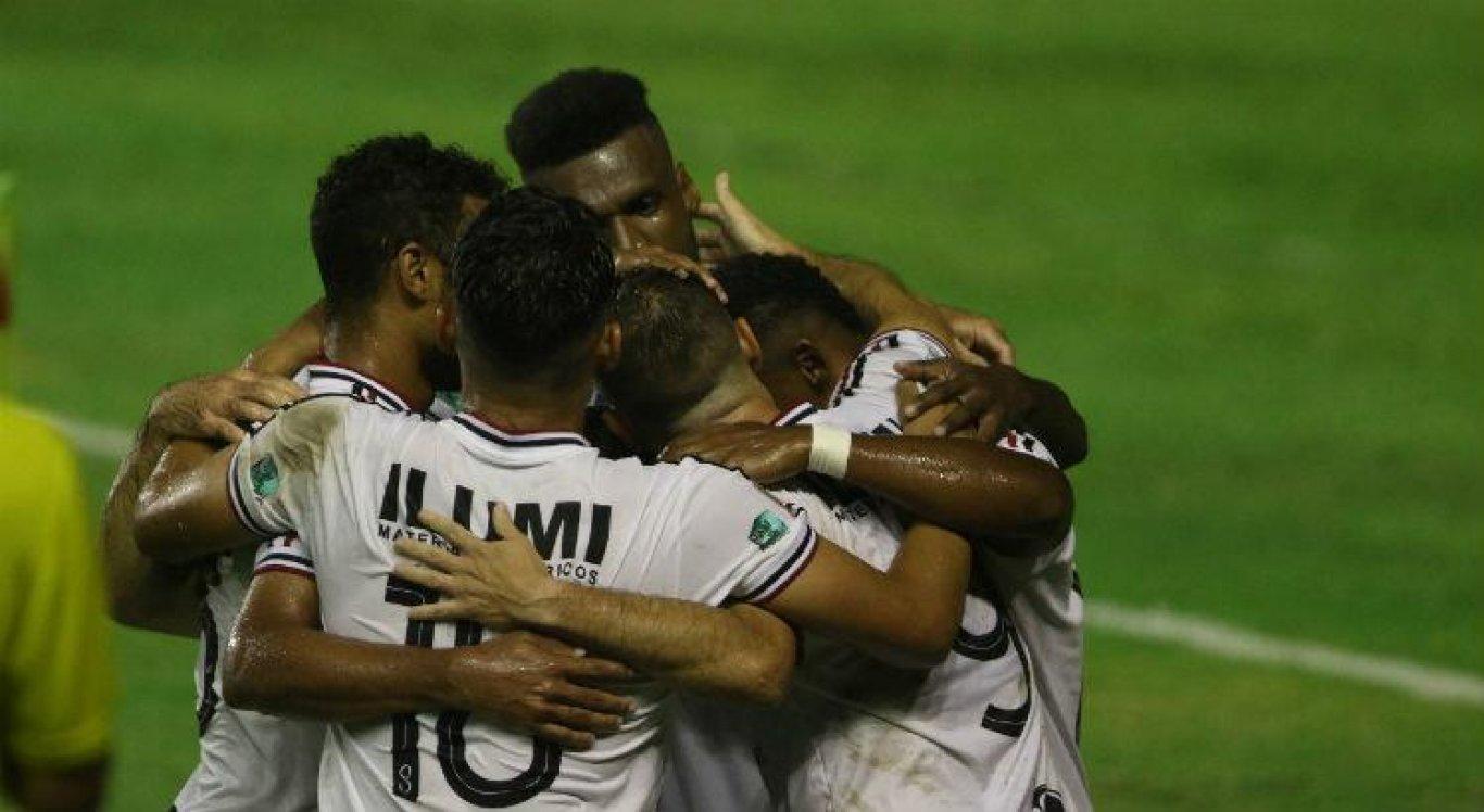 Santa Cruz empatou na primeira rodada da Série C.