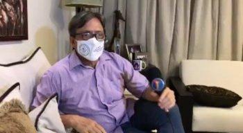 Em entrevista à TV Jornal, o diretor confessou que ficou surpreso com o que viu na frente da unidade