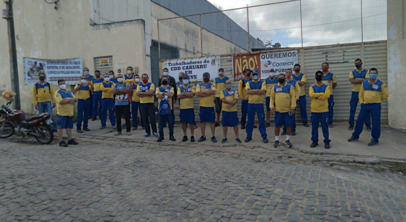 Funcionários dos Correios de Caruaru