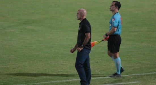 Técnico do Santa Cruz exalta garra dos jogadores em vitória contra o Treze