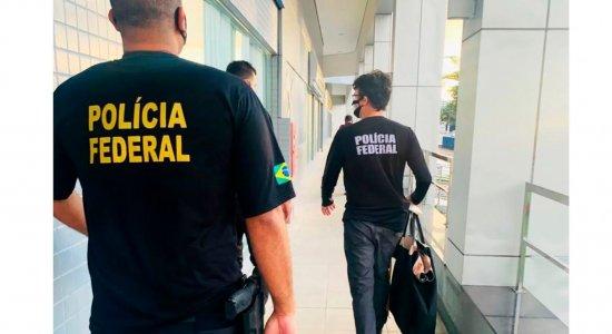 Vice-prefeito de Serrita, no Sertão do Estado, e três policiais militares são presos durante operação da PF