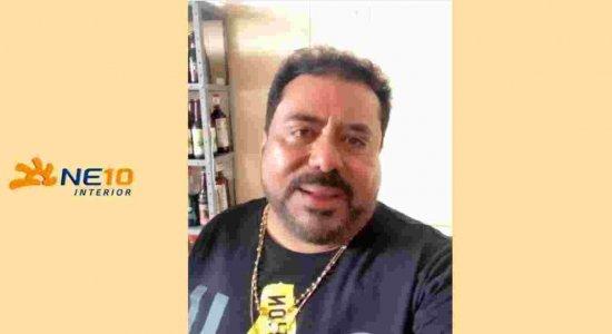 Edson Lima publicou um vídeo após o acidente