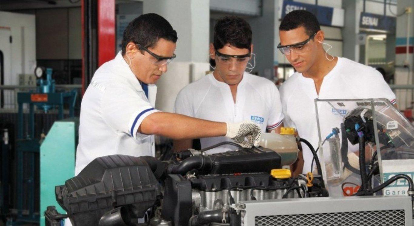 Senai Pernambuco abre matrículas para cursos técnicos