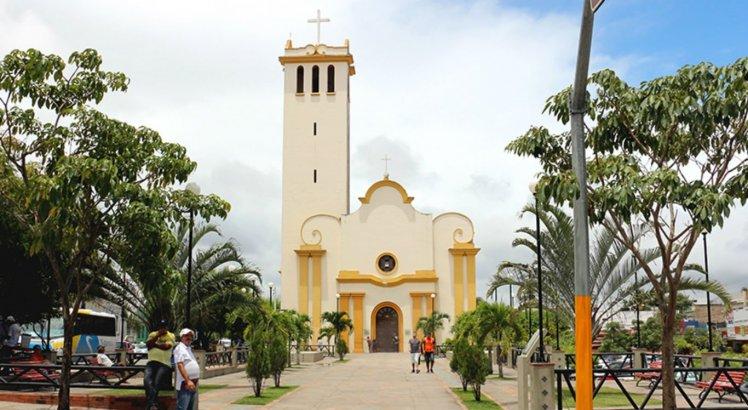 Igreja Matriz de Sant'Ana, em homenagem à padroeira