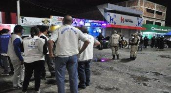 A ação em Paulista interditou bares e dispersou aglomerações