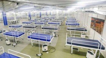 O Hospital Provisório Recife 2, no bairro dos Coelhos, foi inaugurado com 420 leitos, sendo 100 de UTI