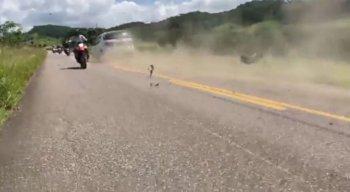 Vídeo mostra momento em que colisão aconteceu