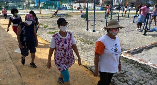Olinda: academia do bairro volta a funcionar com atividade presencial