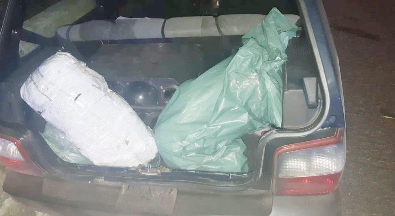 Homem é detido com maconha após sofrer acidente em Caruaru