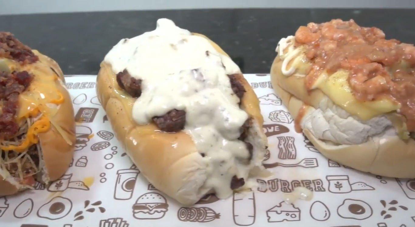 Lanchonete oferece vários sabores de cachorro-quente