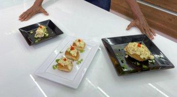 Pães de alho, pelo chef Rivandro França
