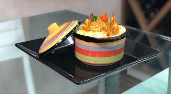 Batata-doce com camarões, tem combinação melhor?
