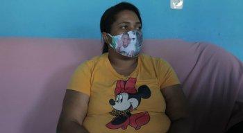 Mirtes Renata, mãe de Miguel Otávio, menino que morreu após cair de prédio no Recife