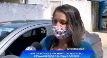 Dona Maria José concedeu entrevista à TV Jornal nessa segunda-feira (24) e falou sobre a morte do filho.