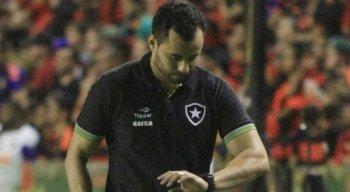Jair Ventura, novo treinador do Sport, iniciou a carreira no Botafogo em 2017.