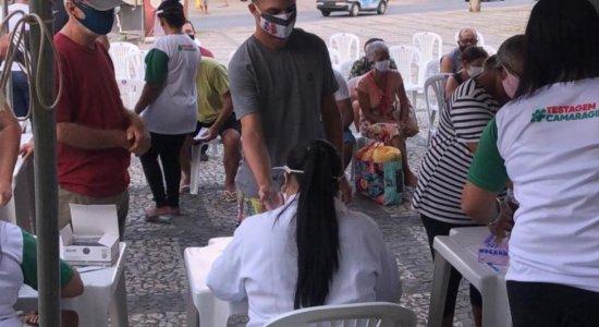 Camaragibe faz testagem gratuita da covid-19 nesta terça-feira (25)