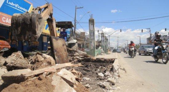 Prefeitura de Olinda inicia segunda etapa das obras da Avenida Presidente Kennedy