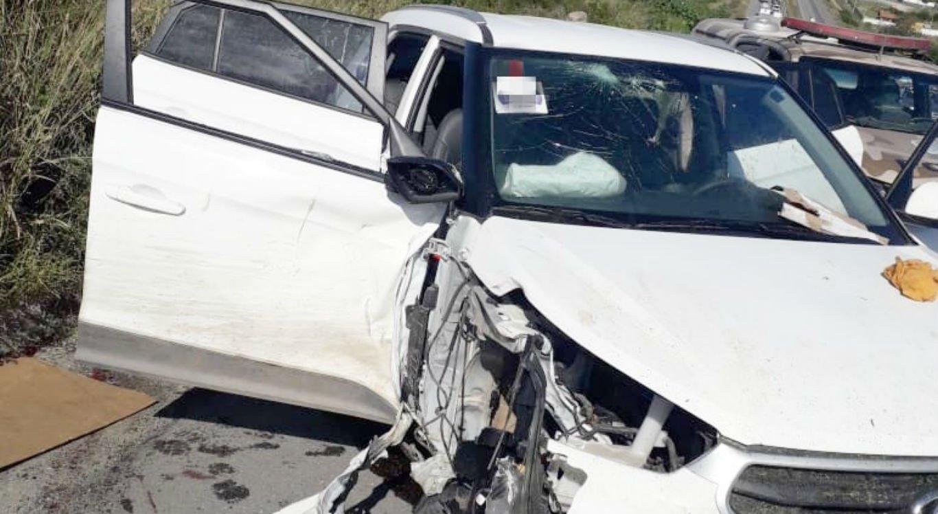 Suspeitos se envolveram em acidente durante perseguição