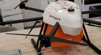 O drone consegue suportar uma carga de até 30kg