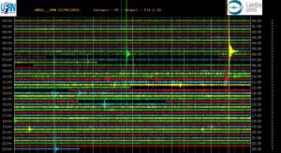 Mais um tremor foi registrado na cidade