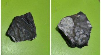 Fragmentos de meteorito serão levados para o Rio de Janeiro