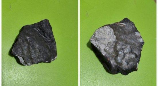 Pedaço de meteorito que caiu em Pernambuco fará parte de museu no Rio de Janeiro