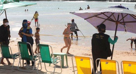 Comércio na praia é liberado com restrições nesta segunda (31)