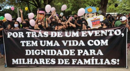 Profissionais do setor de eventos cobram data para retomar atividades em Pernambuco