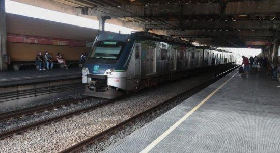 Mudança na circulação dos trens da Linha Sul do Metrô do Recife acontece nesta quinta-feira (25)