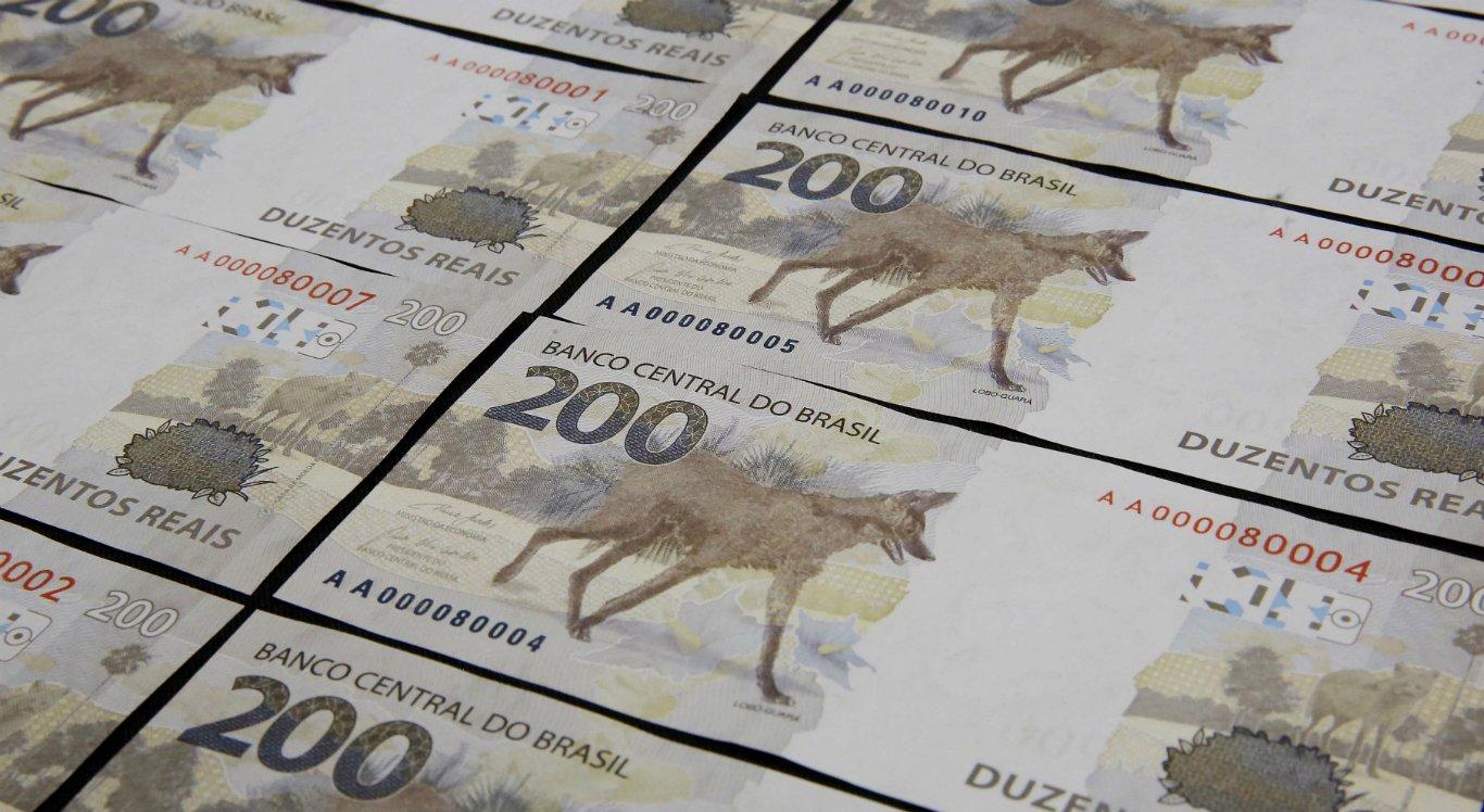 Banco Central (BC) lançou a nova nota de R$ 200,00 com a imagem do lobo-guará