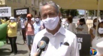 Arnaldo Mendonça durante entrevista à TV Jornal nesta quinta-feira (3).