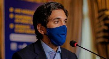 secretário de Desenvolvimento Econômico, Bruno Schwambach