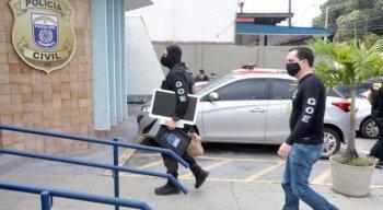 Polícia Civil faz operação para investigar fraudes em licitações em Recife, Feira Nova e cidades do Agreste