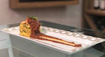 Crepioca, preparada pelo chef Rivandro França