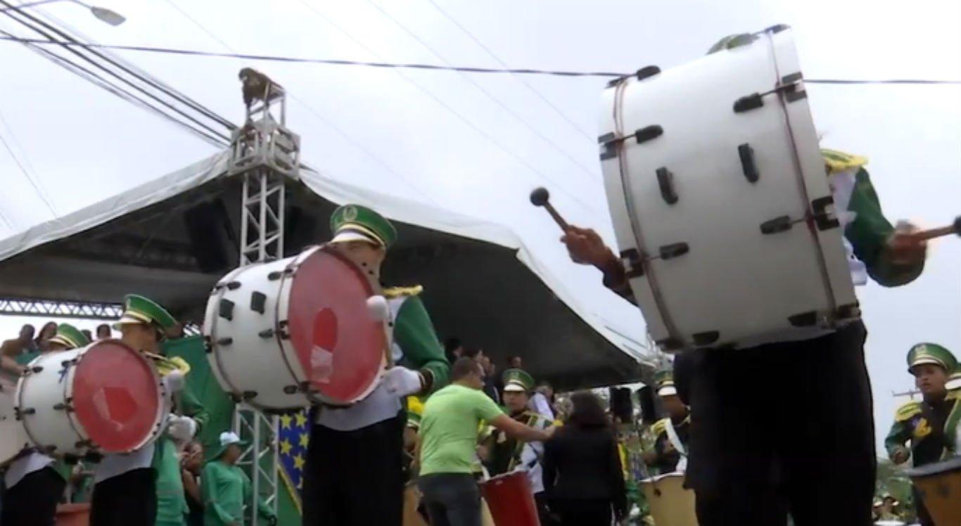 Desfile de 7 de setembro em Caruaru