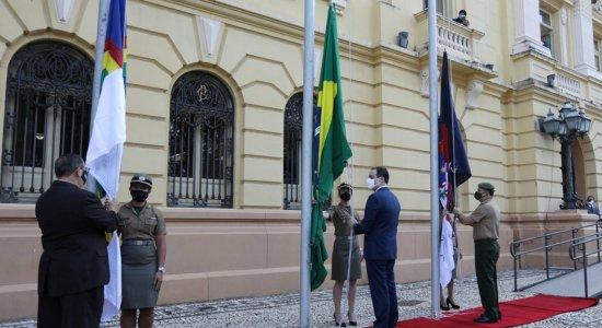 Sem desfile por causa do coronavírus, Pernambuco celebra Dia da Independência de maneira diferente
