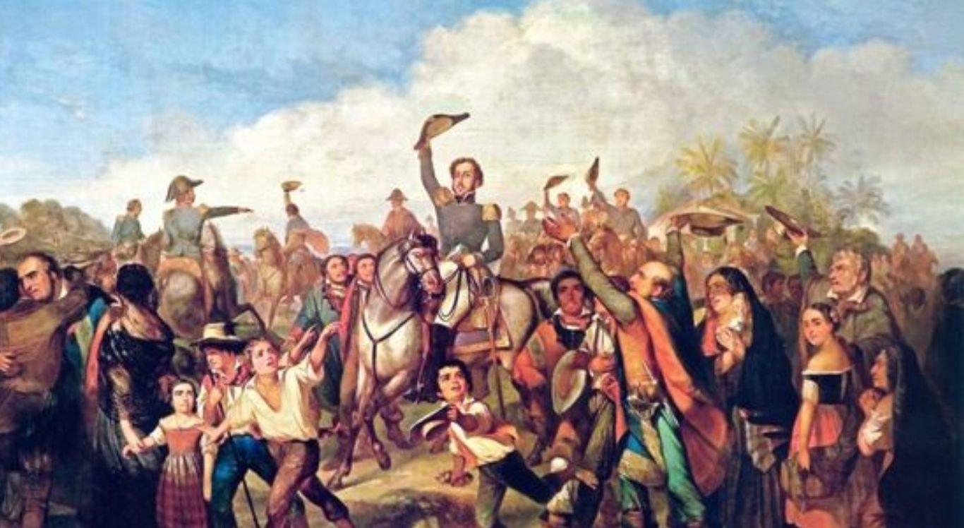 Proclamação da Independência, de François-René Moreaux (1844)